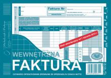 163-3E Dowód naliczenia podatku od towarów i usług (faktura wewn.) czynności opodatkowane zrównane ze sprzedażą w cenach netto