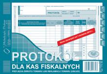 173-3E Protokół dla kas fiskalnych przyjęcia zwrotu towaru lub reklamacji towaru (usługi)