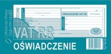 184-8U Oświadczenie VAT RR
