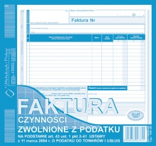 198-2E-Faktura-Czynności-zwolnione-z-podatku-na podstawie-art.-43 ust.-1-pkt.-2-41 ustawy-z-dnia-11 marca-2004-r.-o-podatku-od towarów-i-usług-okl