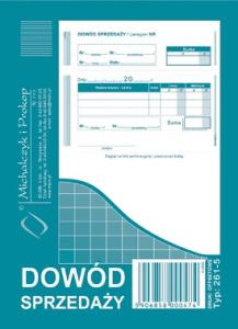 261-5 Dowód sprzedaży (paragon)