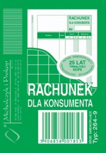 264-9 Rachunek dla konsumenta