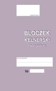 268-8 Bloczek kelnerski (bonownik)