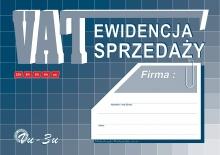 Vu-3u Ewidencja sprzedaży - VAT