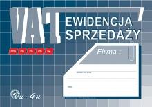 Vu-4u Ewidencja sprzedaży - VAT