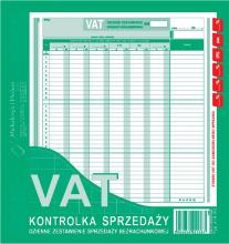 418-2U VAT - kontrolka sprzedaży dzienne zestawienie sprzedaży bezrachunkowej