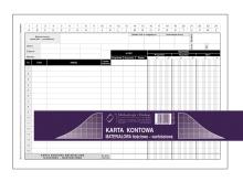 437-3 Karta kontowa materiałowa ilościowo-wartościowa