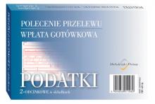 471-5s Podatki polecenie przelewu - wpłata gotówkowa - 2-odcinkowe w składkach