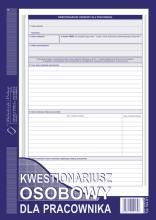 504-B1 Kwestionariusz osobowy dla pracownika
