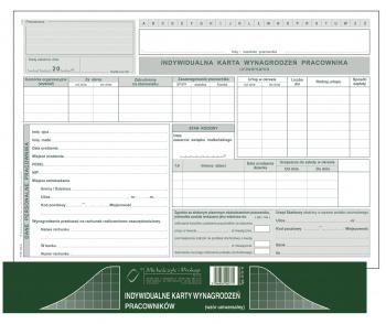 513-A Indywidualne karty wynagrodzeń pracowników (wzór uniwersalny)