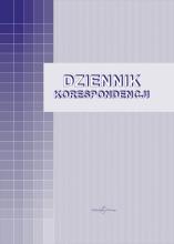 701-A Dziennik korespondencji