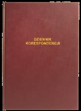 701-B Dziennik korespondencji