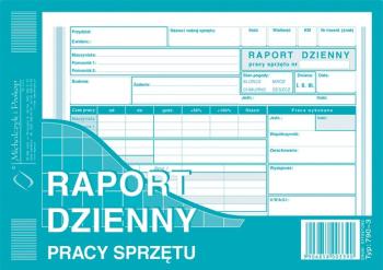 790-3 Raport dzienny pracy sprzętu