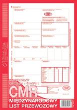 800-2 CMR Międzynarodowy list przewozowy