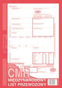 800-2N CMR Międzynarodowy list przewozowy (numerowany)