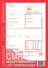 800-3N CMR Międzynarodowy list przewozowy (numerowany)