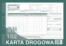 801-1 Karta drogowa sm/102 (samochód ciężarowy)