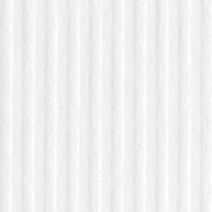 DZ104-B Karton ozdobny prążkowany biały