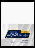 DZ128-B Karton ozdobny atlas biały