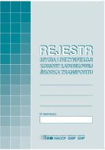 H91-3 Rejestr mycia i dezynfekcji komory ładunkowej środka transportu
