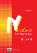 N-125-5 Notes samokopiujący w linie
