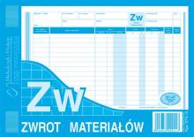 374-3 ZW zwrot materiałów