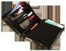 ST024 Teczka z zewnętrzną kieszenią
